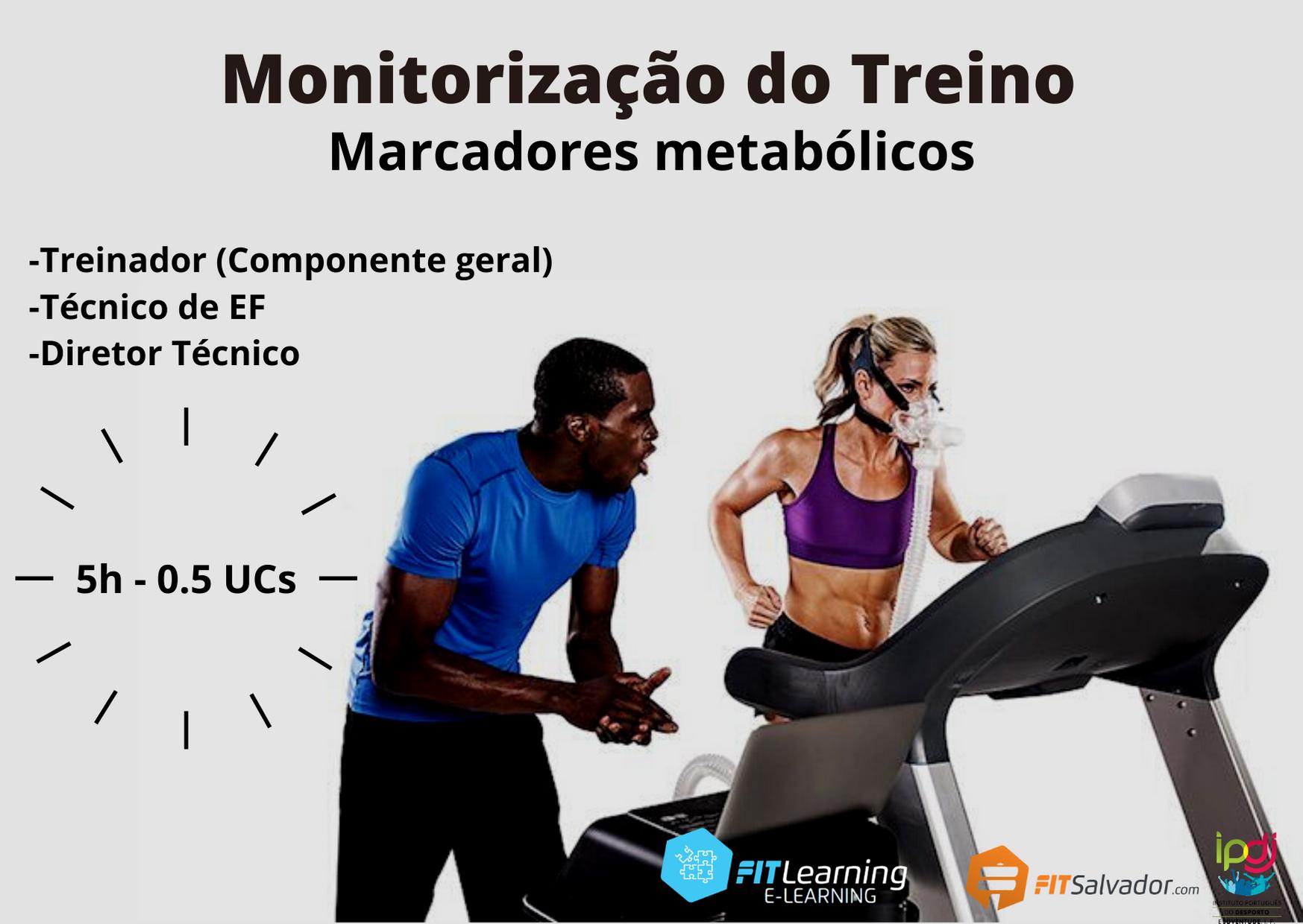 Monitorização do Treino: marcadores metabólicos